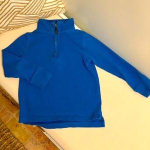 JCrew Boy's Sueded Half Zip Popover Sweatshirt 4-5